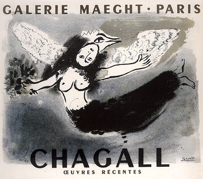 Chagall, Maeght Gallery, Paris