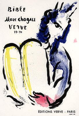 Bible, Marc Chagall, Verve