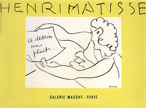 Exposition de Dessins  Exhibition of drawings, Gallery Maeght