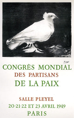 Congres Mondial de la Paix World Congress of Peace Partisans, Paris 1949