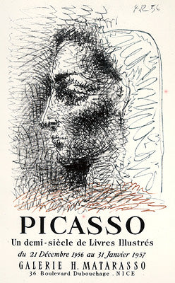 Picasso - Un demi-siecle de Livres Illustres. 50 years of illustrated books.