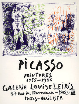 Peintures 1955-1956 Paintings. Louise Leiris Gallery, Paris 1957