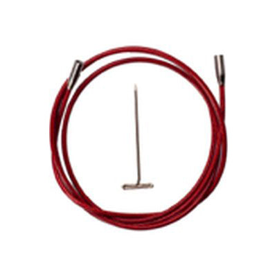 ChiaoGoo Twist Red Cables Large