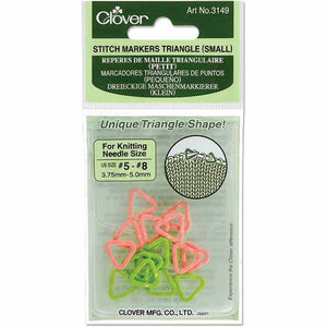 Clover Stitch Markers Triangle (Small)