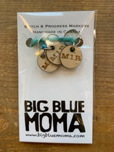Load image into Gallery viewer, Big Blue Moma Stitch Markers