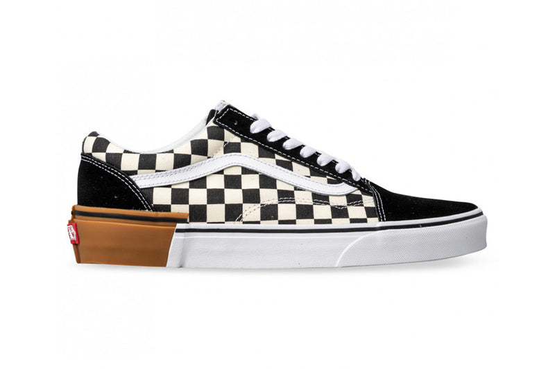 Vans Checkerboard Old Skool Gum Sole