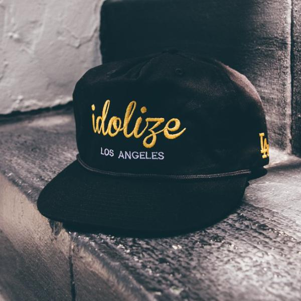 Vintage Hat Black/Yellow