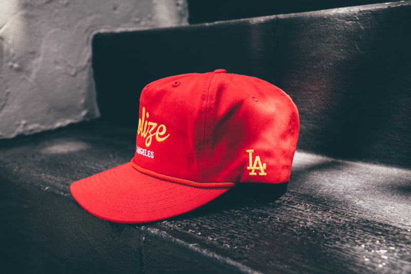 Vintage Hat Red/Yellow