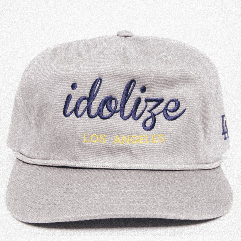 Vintage Hat Grey/Navy