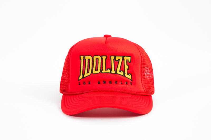 Trucker Hat Red/Yellow