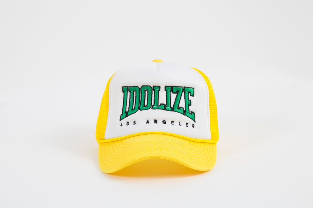 Trucker Hat Yellow/Green