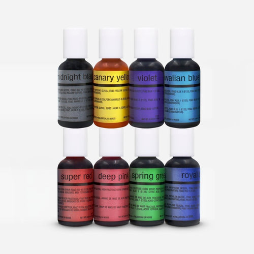 Chefmaster Airbrush 8 Colors Kit 20ml
