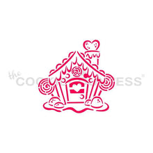 Load image into Gallery viewer, Gingerbread House PYO Stencil - Drawn by Krista