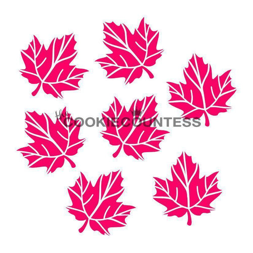 Maple Leaves Stencil