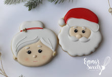 Load image into Gallery viewer, Mr. and Mrs. Claus Cookie Cutter Gift Set