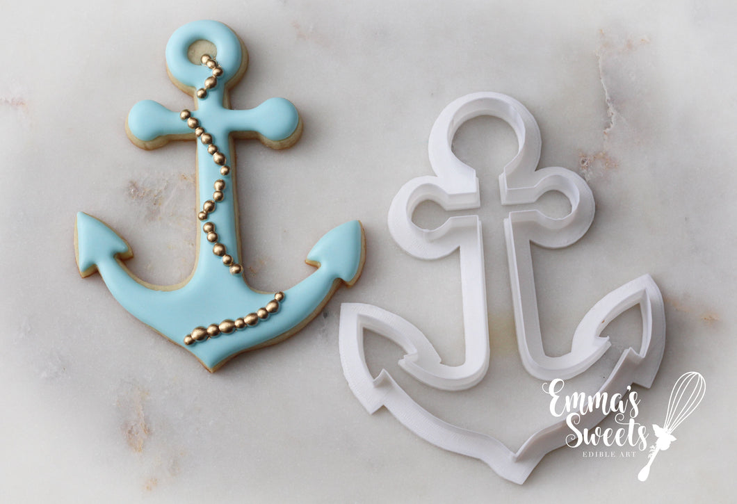 Large Anchor Cookie Cutter 5
