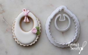 Baby Bib with Bow