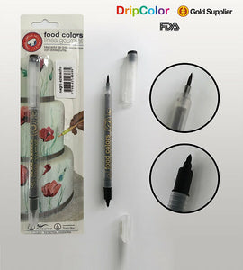 DripColour Gourmet Food Marker- Jet Black