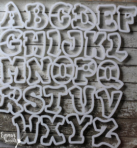 Chunky Alphabet - Uppercase Letters- FULL SET