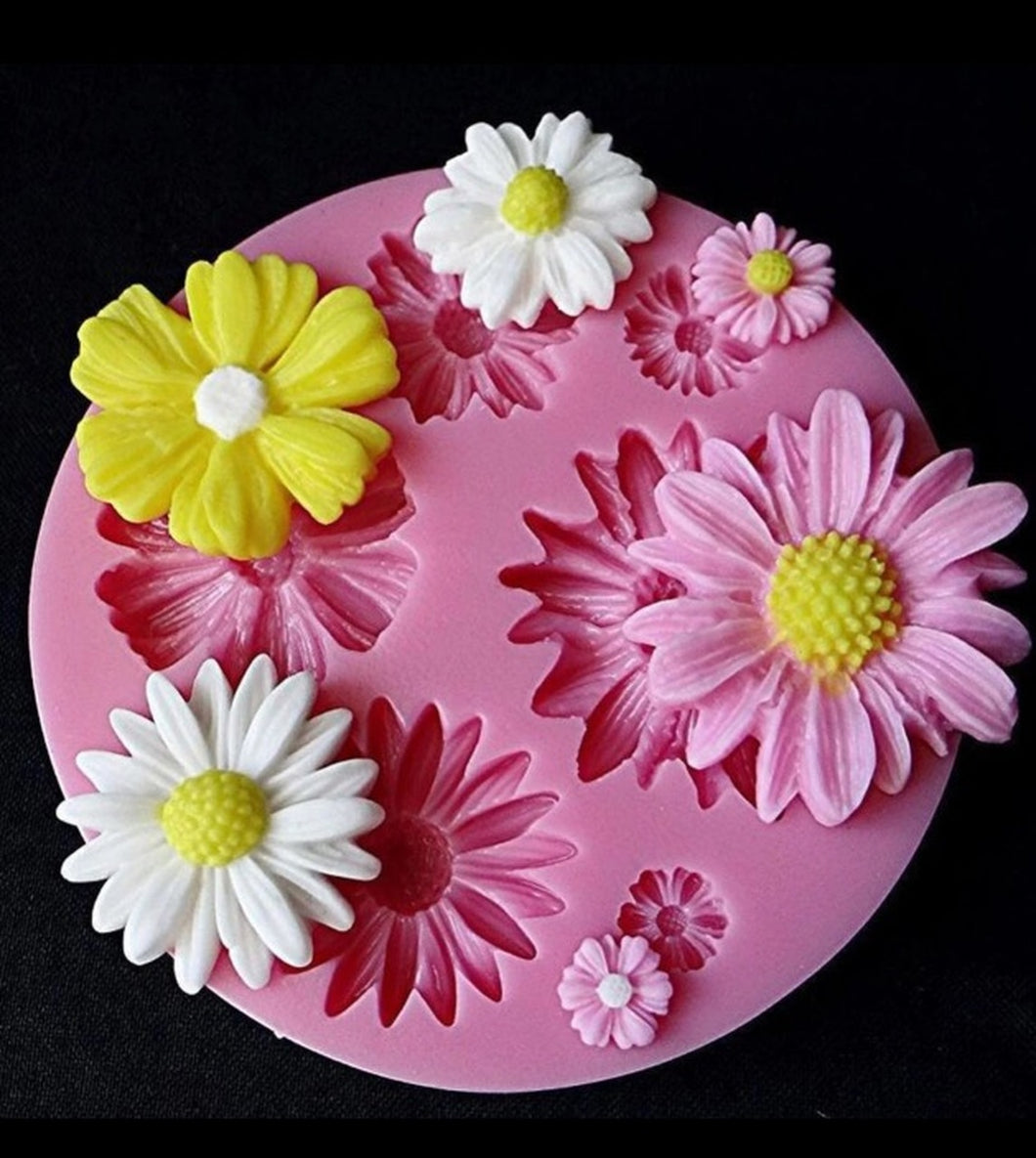 Daisy Flower Mold PM325