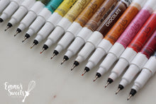 Load image into Gallery viewer, EDIBLE MARKERS/EDIBLE PENS by Rainbow Dust - Double Sided