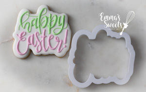 Happy Easter Plaque