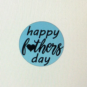 Happy Fathers Day with Heart