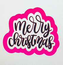 Load image into Gallery viewer, Merry Christmas Script