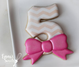 Chunky Number With Bow
