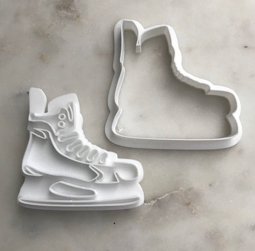 Hockey Skate Cutter and Stamp Set