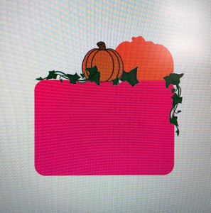 Pumpkin Patch Plaque