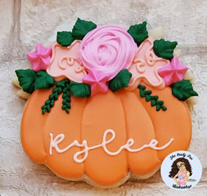 Pumpkin with Florals 2