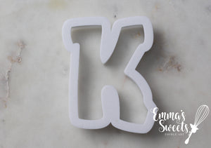 Chunky Alphabet - Uppercase Letters