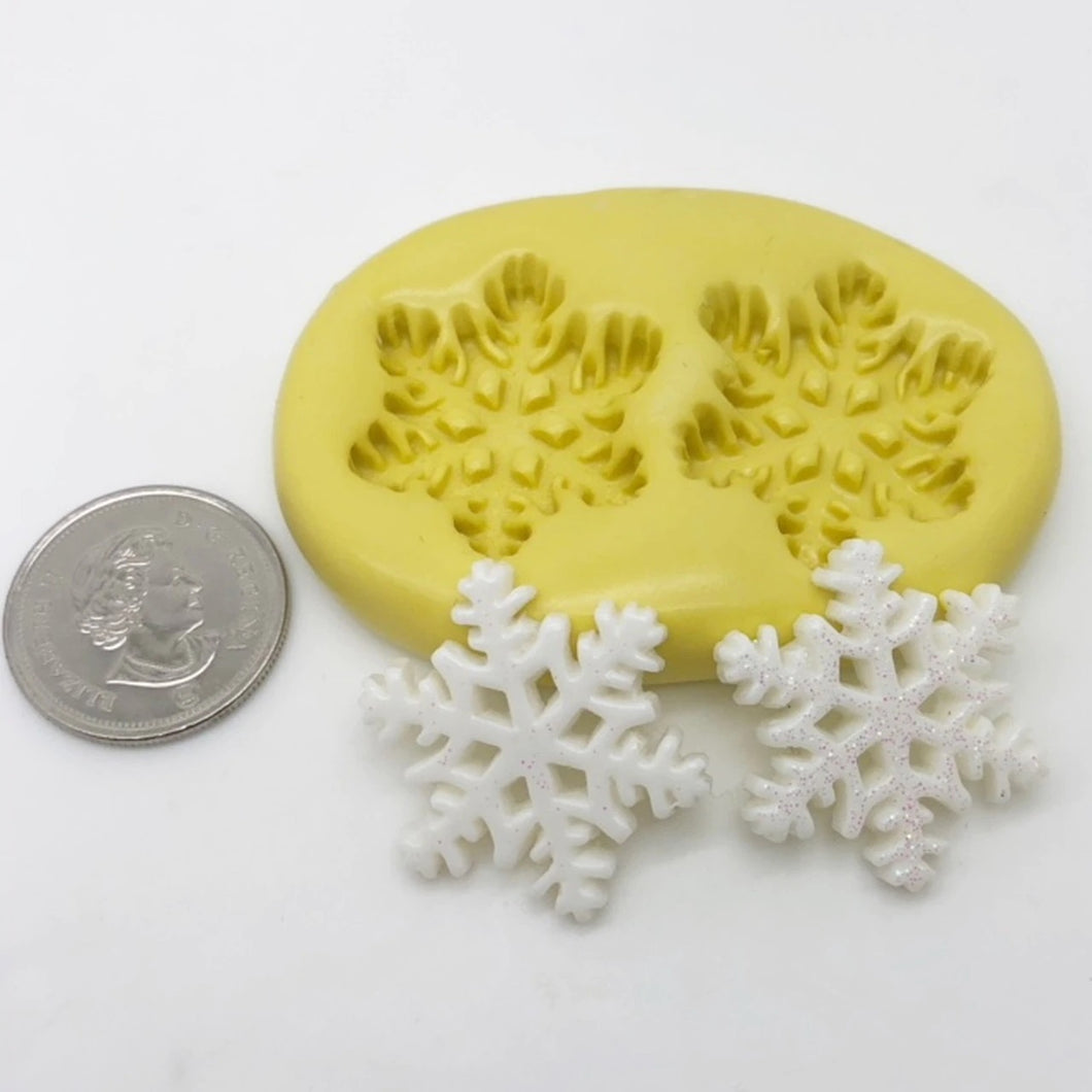Medium Snowflake Mold Set