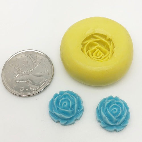Mini Rose Flower Mold Silicone