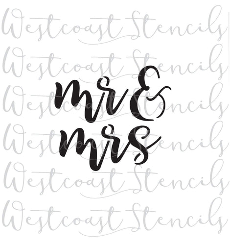 MR AND MRS, STYLE 2
