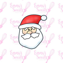 Load image into Gallery viewer, Santa Claus Face 3