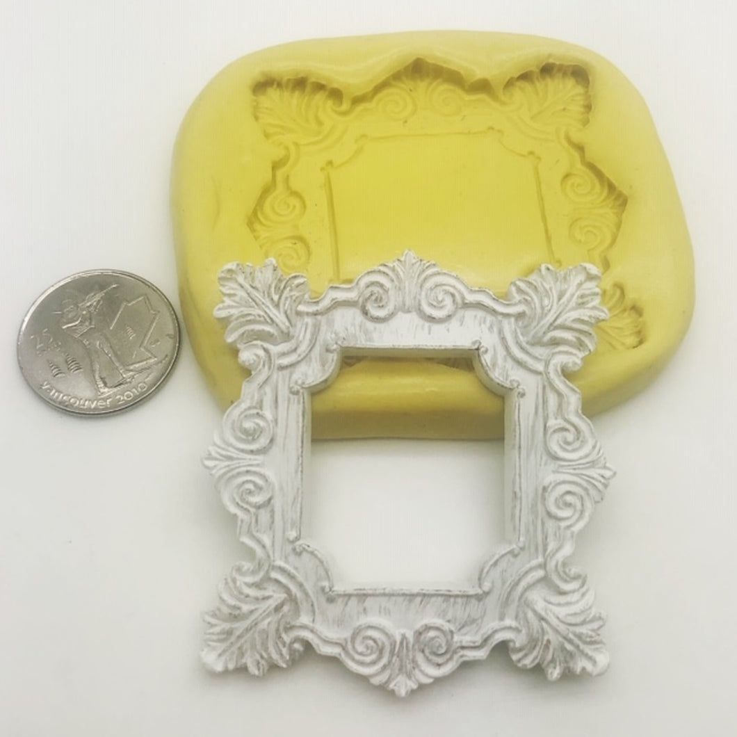 Square Fancy Frame Mold