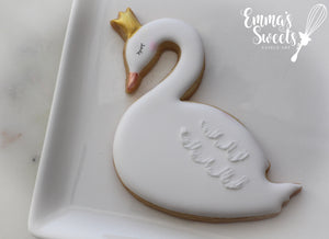 Swan with Crown 1