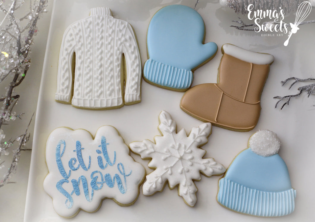 Winter Cookie Decorating Classes