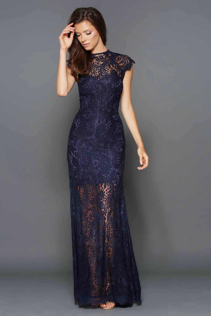 Demi Gown n Navy by Elle Zeitoune - RENTAL | The Fitzroy