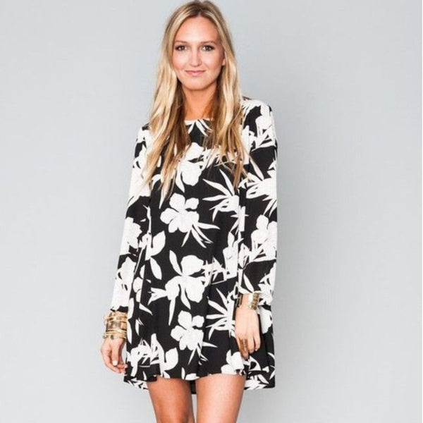 Show Me Your Mumu Frenchie Flow Dress in Lily Collins Print - FINAL SALE