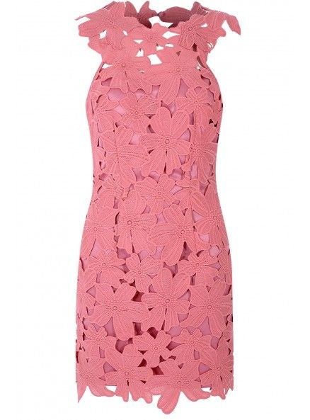 Petal Pink Bodycon Dress by Glamorous - RENTAL