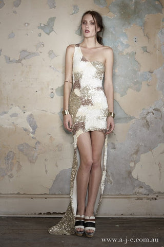Fonolo Sequin Gown by Aje - RENTAL