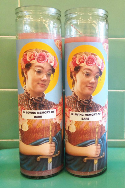 Celebrity prayer candles - assorted - In store only