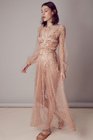 For Love and Lemons Toronto All That Glitters Maxi