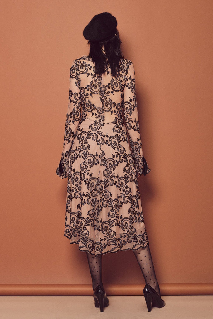 Clemence Midi Dress By For Love And Lemons Rental The