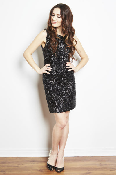 Wheeler Low Back Sequin Party Dress by Brose - RENTAL