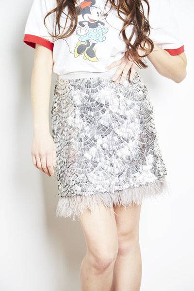 Gatsby Sequin Skirt by Brose - RENTAL