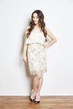 Lanie Dress in White by Brose - RENTAL